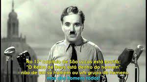 Charles Spencer Chaplin - O Último Discurso - O Grande Ditador
