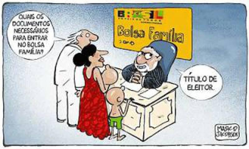 no brasil, em seu curral eleitoral, você sabe quais os documentos necessários para entrar no bolsa família? - título de eleitor