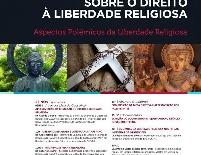 Ciclo de Palestras - Comissão da OAB de Direito e Liberdade Religiosa
